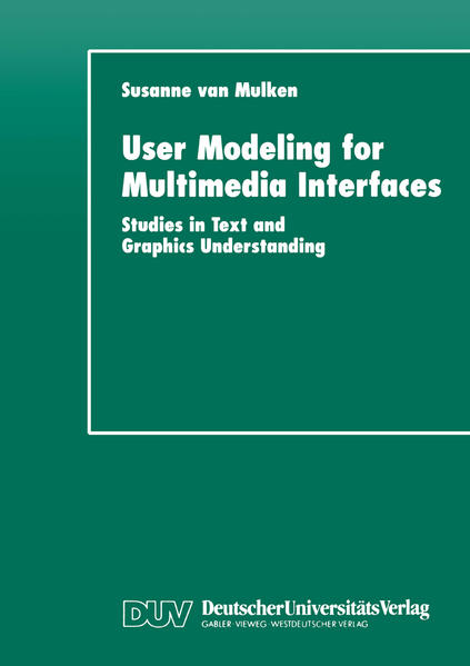 User Modeling for Multimedia Interfaces - Coverbild