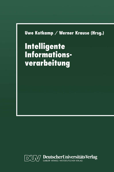 Intelligente Informationsverarbeitung - Coverbild