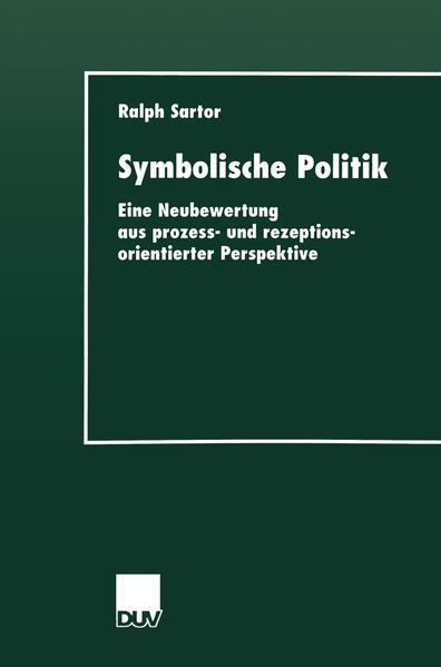Symbolische Politik - Coverbild