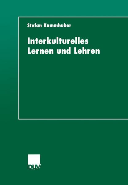 Interkulturelles Lernen und Lehren - Coverbild
