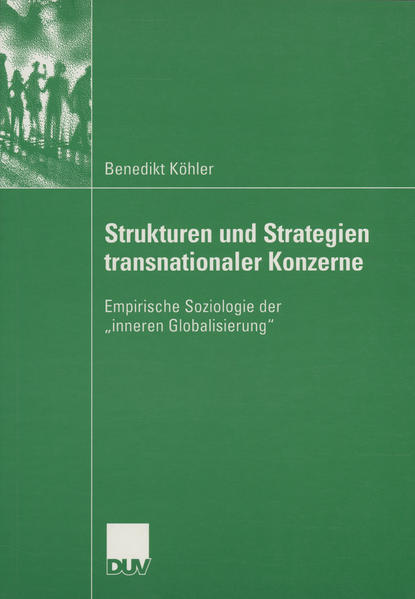 Strukturen und Strategien transnationaler Konzerne - Coverbild