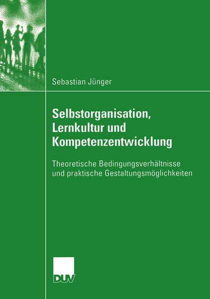 Selbstorganisation, Lernkultur und Kompetenzentwicklung - Coverbild