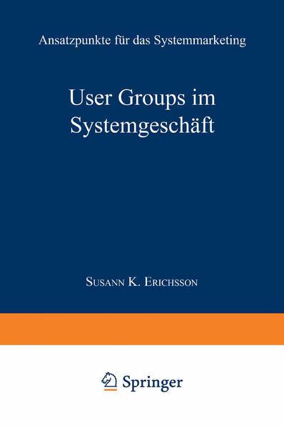 User Groups im Systemgeschäft - Coverbild