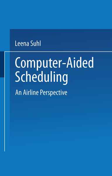 Computer-Aided Scheduling - Coverbild