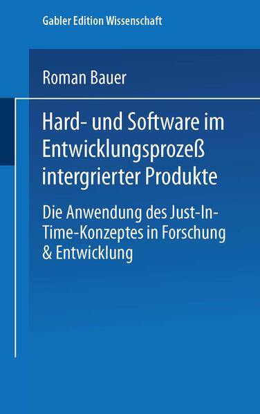 Hard- und Software im Entwicklungsprozeß integrierter Produkte - Coverbild
