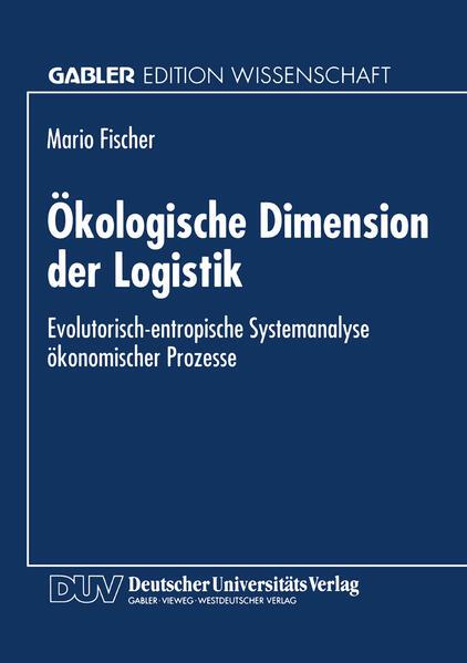 Ökologische Dimension der Logistik - Coverbild