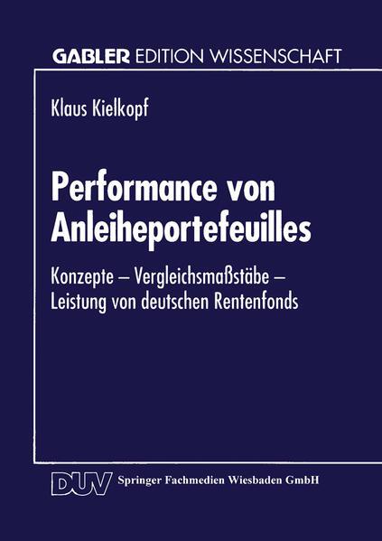 Performance von Anleiheportefeuilles - Coverbild