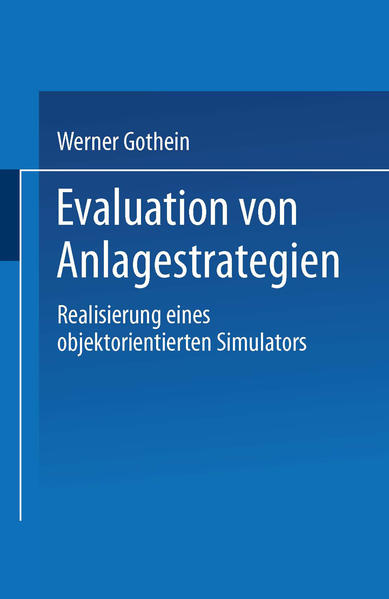 Evaluation von Anlagestrategien - Coverbild