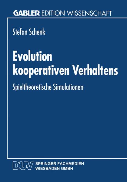 Evolution kooperativen Verhaltens - Coverbild