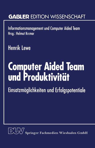 Computer Aided Team und Produktivität - Coverbild