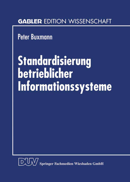 Standardisierung betrieblicher Informationssysteme - Coverbild