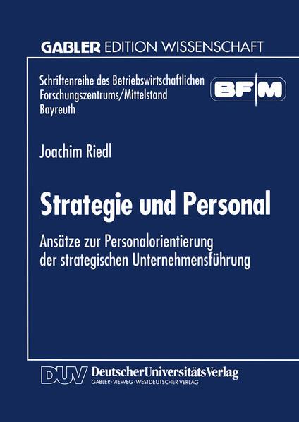 Strategie und Personal - Coverbild