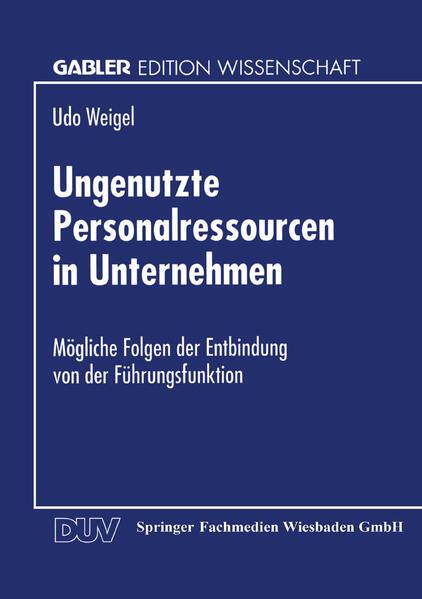 Ungenutzte Personalressourcen in Unternehmen - Coverbild