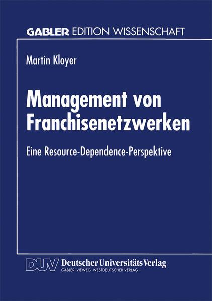 Management von Franchisenetzwerken - Coverbild