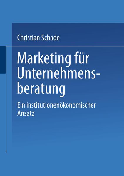Marketing für Unternehmensberatung - Coverbild