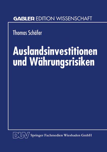 Auslandsinvestitionen und Währungsrisiken - Coverbild