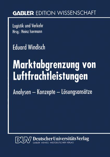 Marktabgrenzung von Luftfrachtleistungen - Coverbild