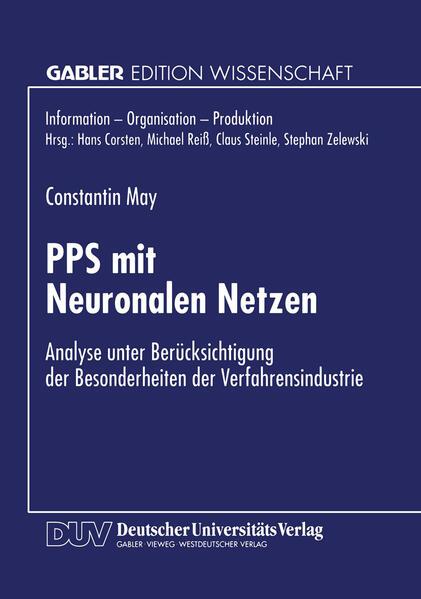 PPS mit Neuronalen Netzen - Coverbild