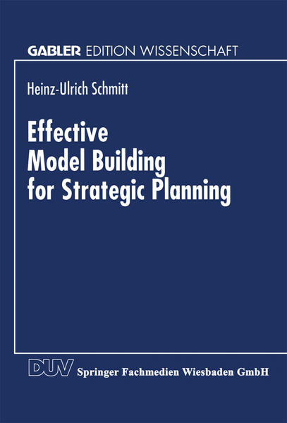 Effective Model Building for Strategic Planning - Coverbild