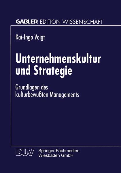 Unternehmenskultur und Strategie - Coverbild