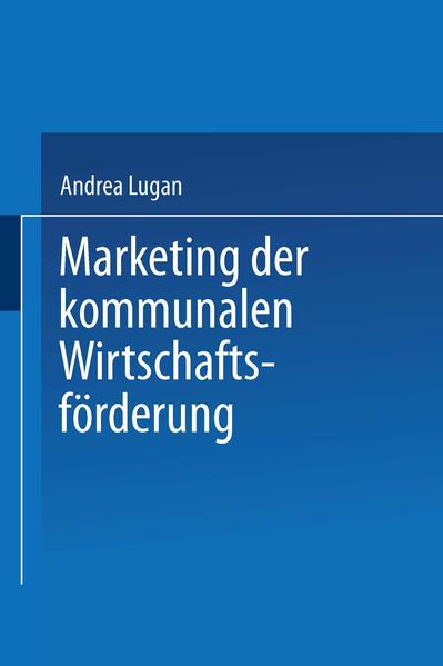 Marketing der kommunalen Wirtschaftsförderung - Coverbild