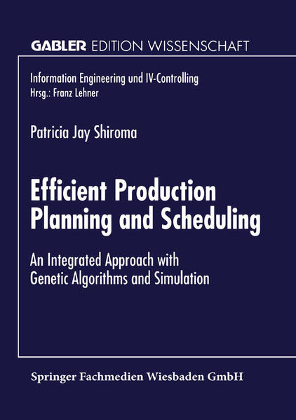 Efficient Production Planning and Scheduling - Coverbild