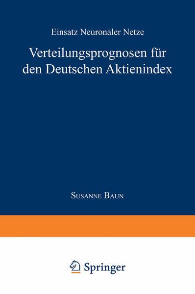 Verteilungsprognose für den Deutschen Aktienindex - Coverbild