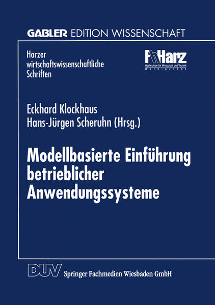 Modellbasierte Einführung betrieblicher Anwendungssysteme - Coverbild