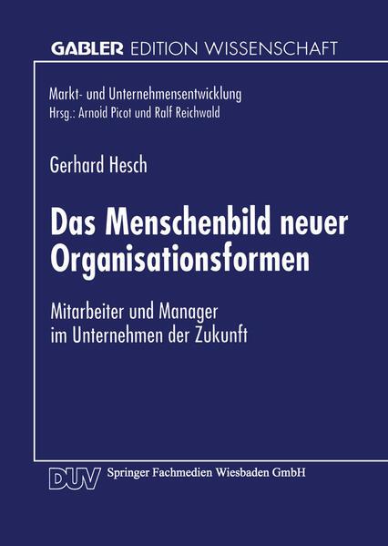 Das Menschenbild neuer Organisationsformen - Coverbild