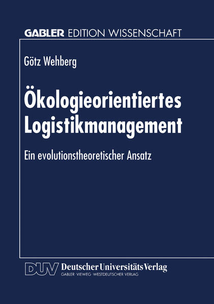 Ökologieorientiertes Logistikmanagement - Coverbild