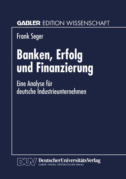 Banken, Erfolg und Finanzierung - Coverbild