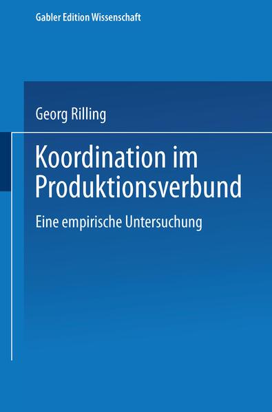 Koordination im Produktionsverbund - Coverbild