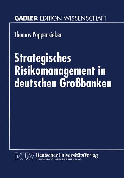 Strategisches Risikomanagement in deutschen Großbanken - Coverbild
