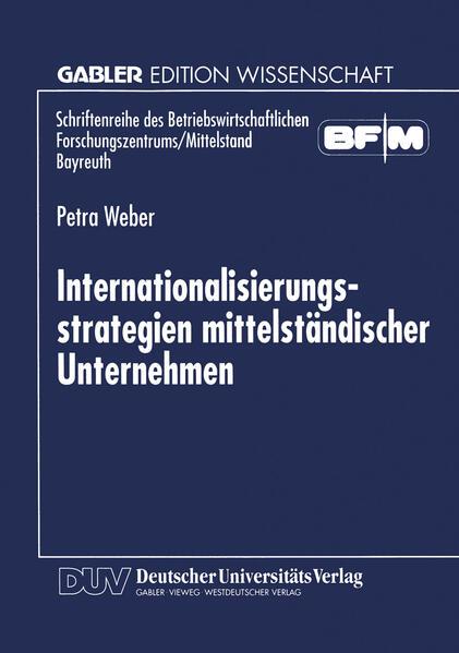 Internationalisierungsstrategien mittelständischer Unternehmen - Coverbild