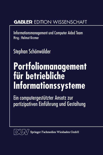 Portfoliomanagement für betriebliche Informationssysteme - Coverbild