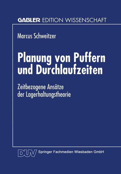 Planung von Puffern und Durchlaufzeiten - Coverbild