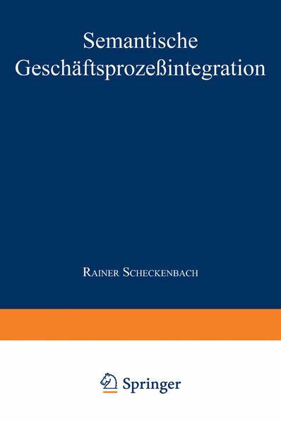 Semantische Geschäftsprozeßintegration - Coverbild