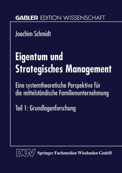 Eigentum und Strategisches Management - Coverbild
