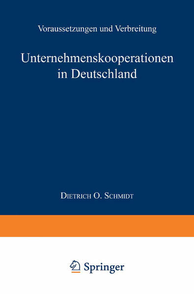 Unternehmenskooperationen in Deutschland - Coverbild