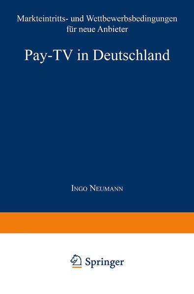 Pay-TV in Deutschland - Coverbild