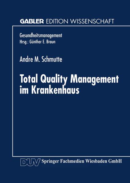 Total Quality Management im Krankenhaus - Coverbild