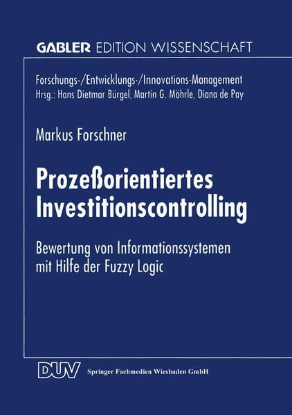 Prozeßorientiertes Investitionscontrolling - Coverbild