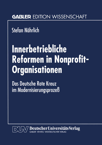 Innerbetriebliche Reformen in Nonprofit-Organisationen - Coverbild