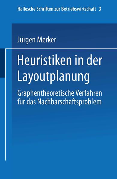 Heuristiken in der Layoutplanung - Coverbild