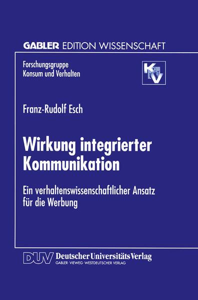 Wirkung integrierter Kommunikation - Coverbild