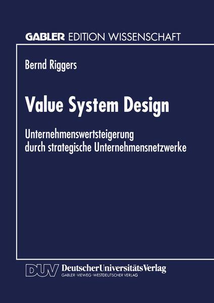 Value System Design - Coverbild