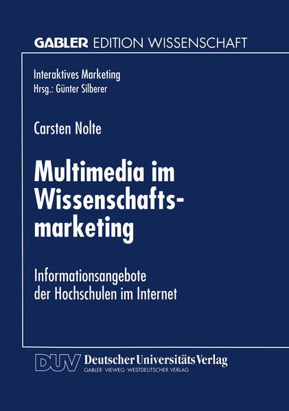 Multimedia im Wissenschaftsmarketing - Coverbild