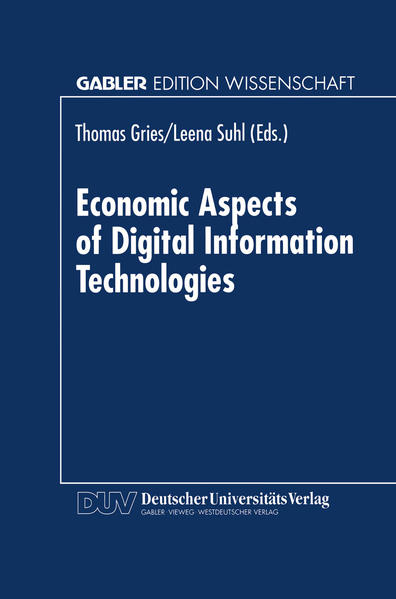 Economic Aspects of Digital Information Technologies - Coverbild
