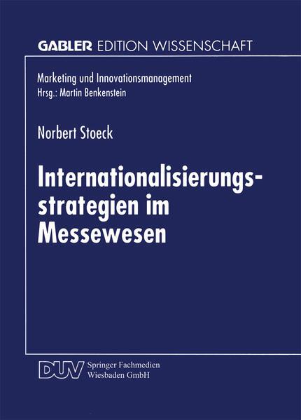 Internationalisierungsstrategien im Messewesen - Coverbild
