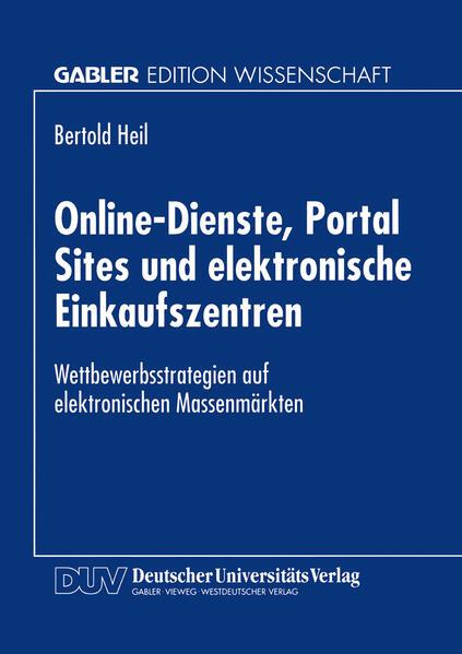 Online-Dienste, Portal Sites und elektronische Einkaufszentren - Coverbild